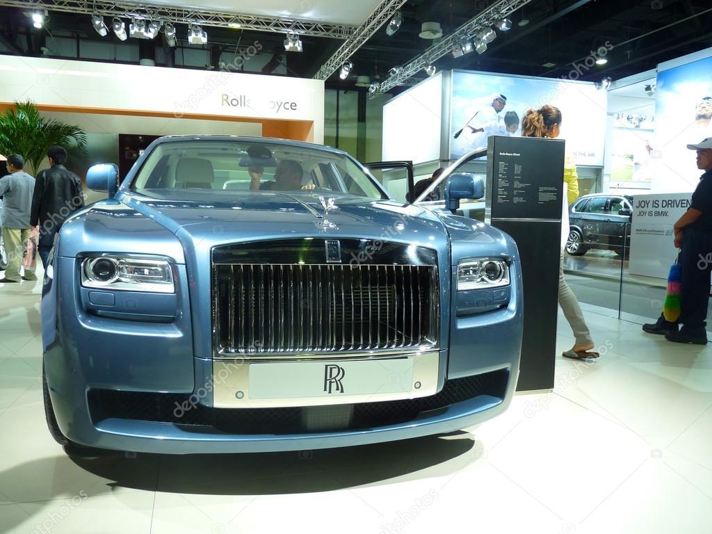 Rolls Royce Luxury cars on Display