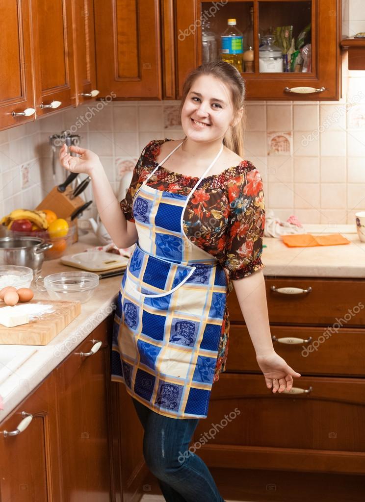 Русская толстая домработница