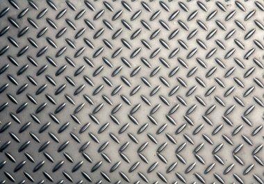 Seamless steel diamond plate texture stock vector