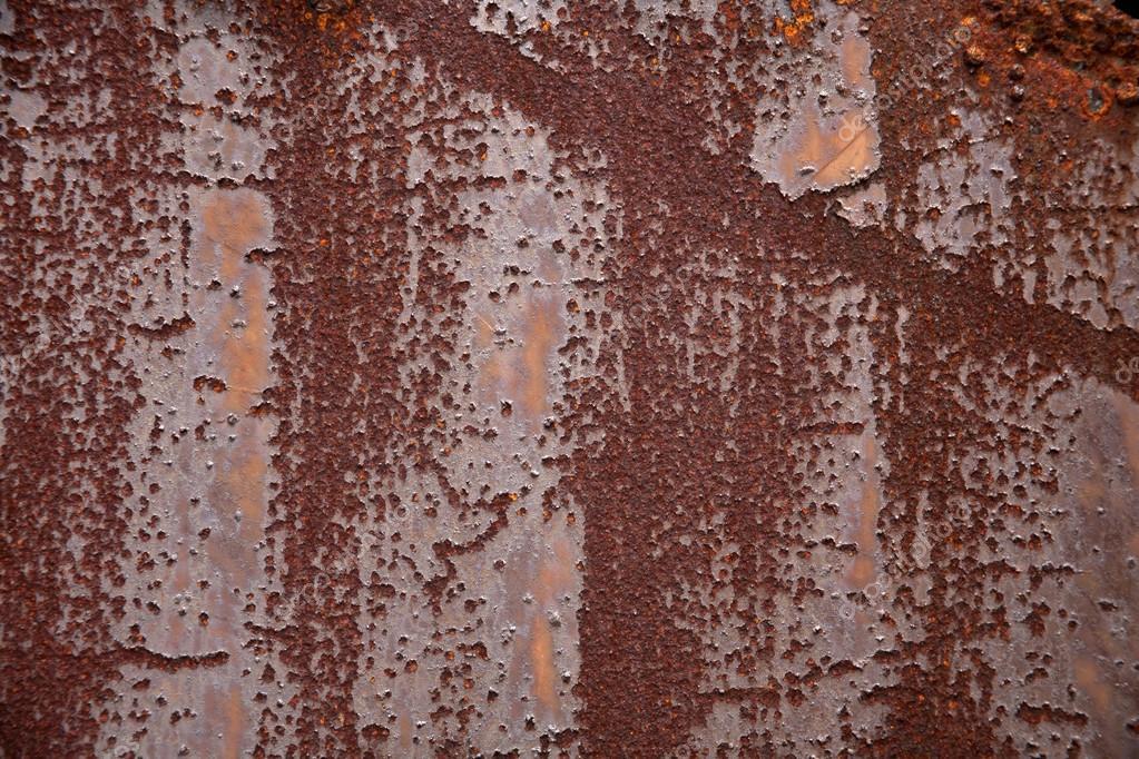 Eisen Zaun Rostige Alte Wellblech Stockfoto C Kaowenhua 18233705