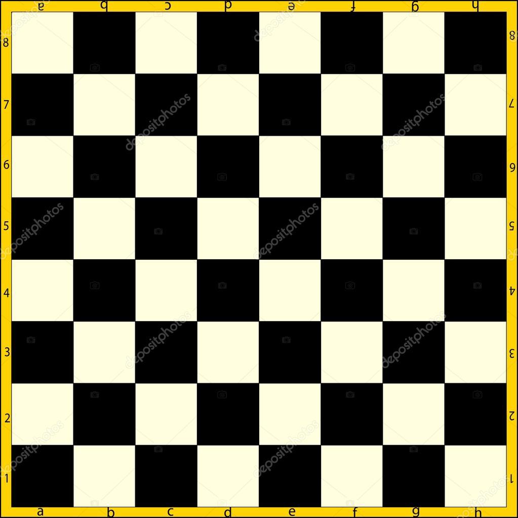 Картинка шахматного поля с огнем