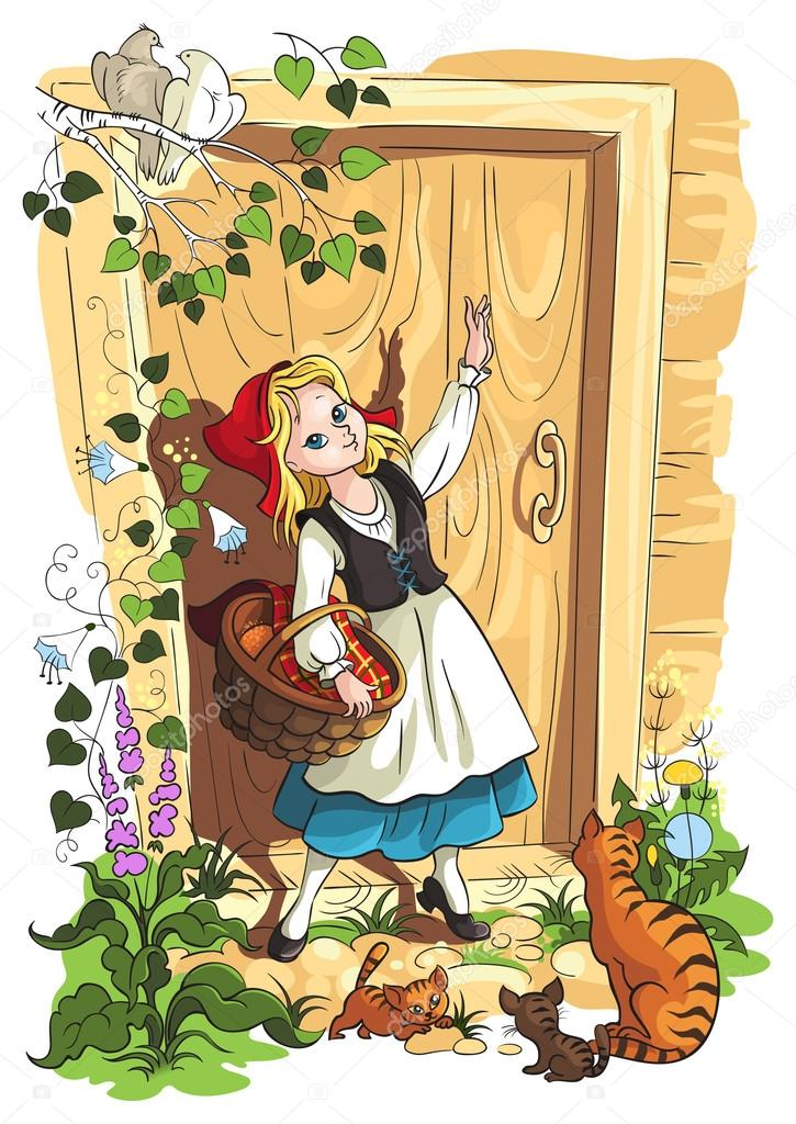 Pictures: little red riding hood story | Little Red Riding