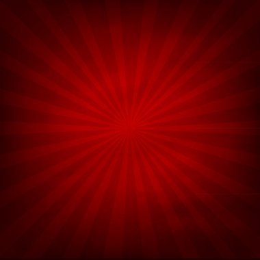 Red Texture Background With Sunburst, Vector Illustration stock vector