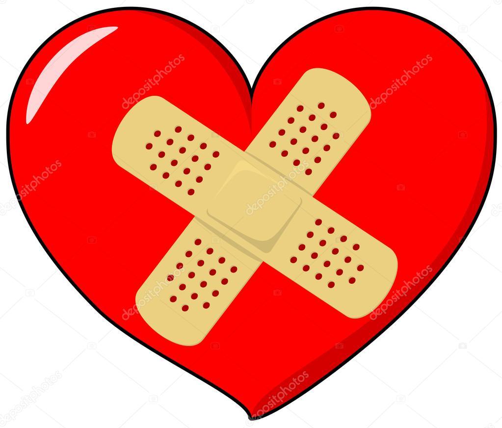 Cuore con cerotto vettoriali stock pixelado 36049299 for Clipart cuore