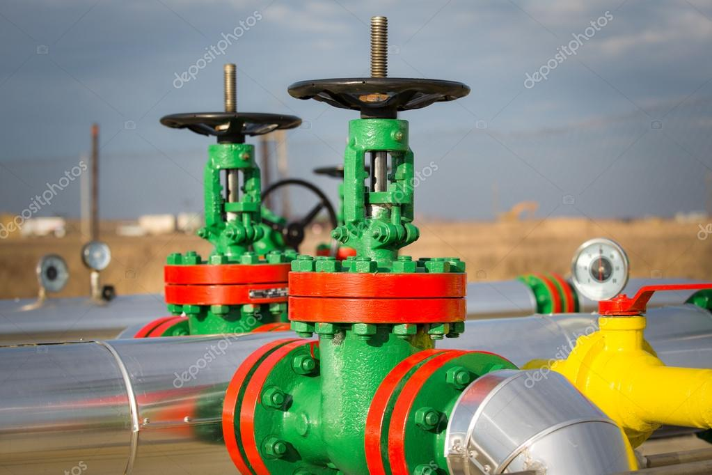 Armaturen industrie  Armaturen — Stockfoto #38645419