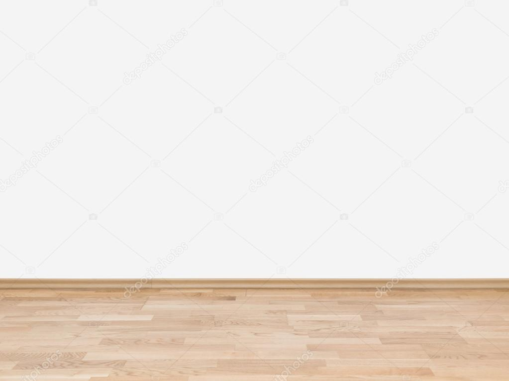 Empty White Wall With Wooden Floor Stock Photo 169 Bloomua