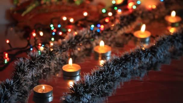 dynamische Silvester Dekoration, Weihnachten