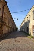 Ulice ve staré části města vyborg