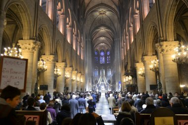 Notre Dame Cathedral inside
