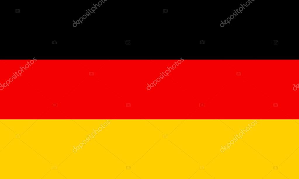 b51dd8cd55 Bandeira da Alemanha. as cores e as proporções do original. ilustração  vetorial — Vetor por konstsem