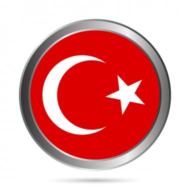 Turkey flag button.