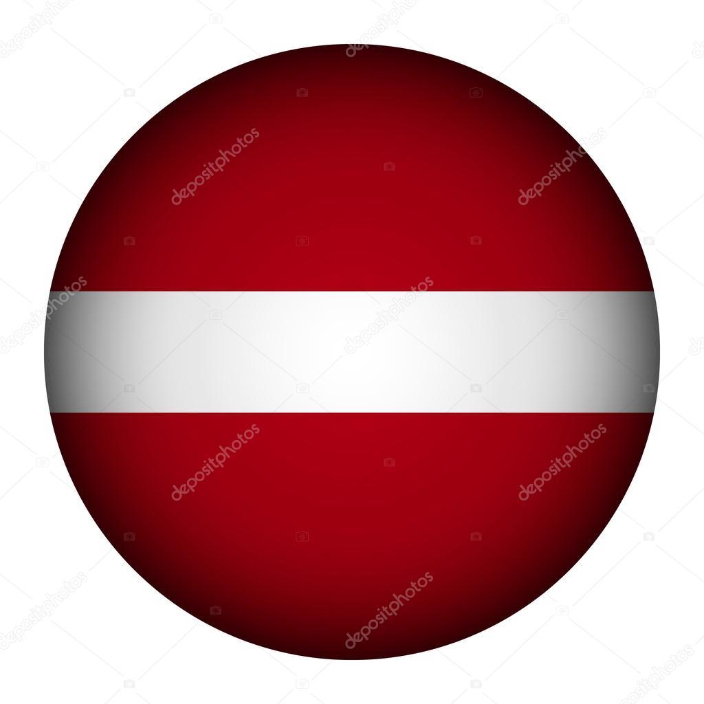 botão de bandeira da letónia vetor de stock konstsem 42410831