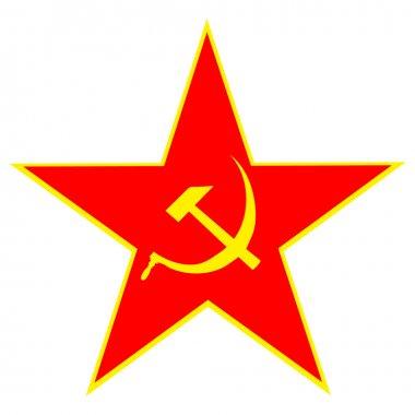 Communist red star
