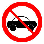 Fotografie No parking sign icon