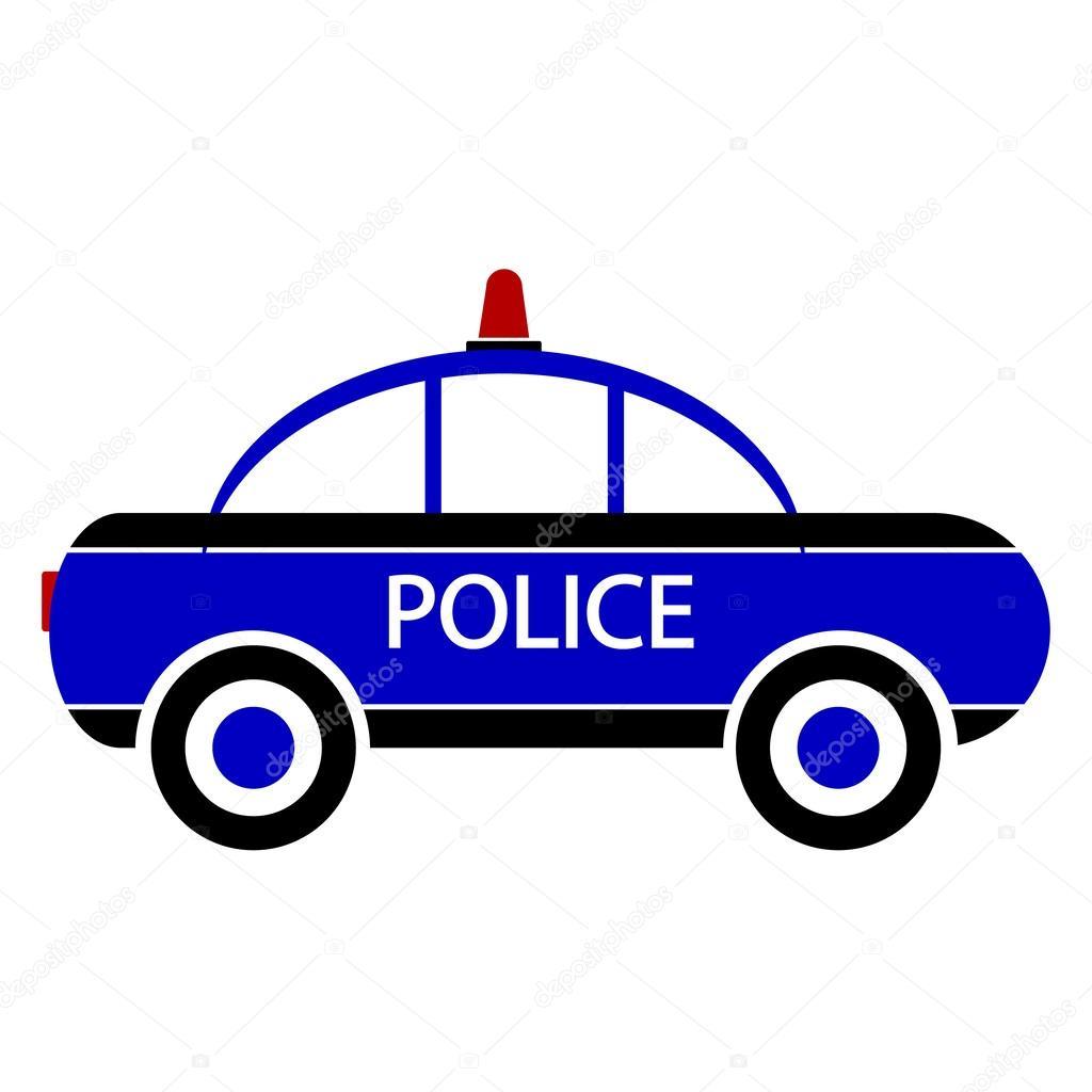 Ic ne de voiture de police image vectorielle konstsem 49280369 - Image de voiture de police ...