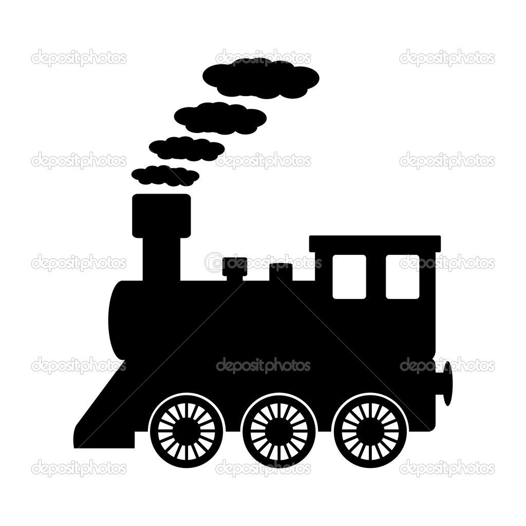 locomotief pictogram stockvector  u00a9 konstsem 49636477 locomotive clipart free locomotive clipart black and white