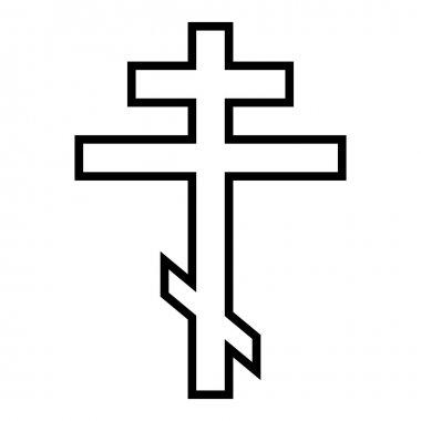 Religious orthodox cross