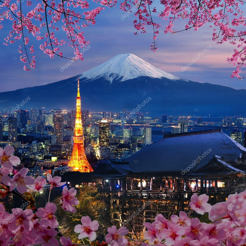 Various travel destination in Japan