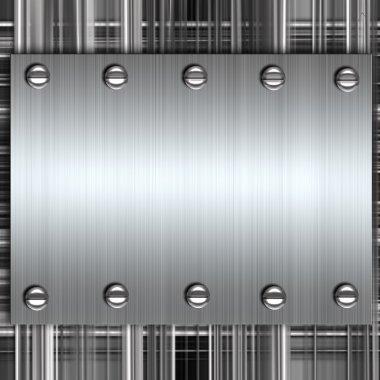 Metal background stock vector