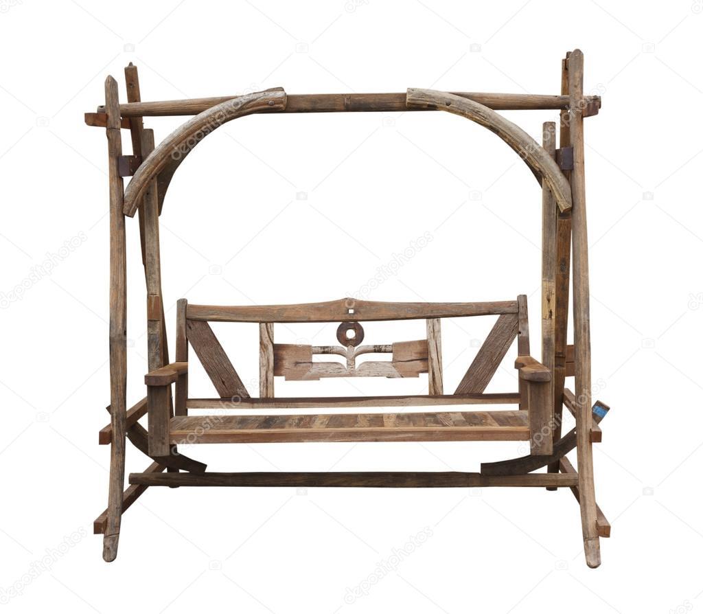 trä gunga stol — stockfotografi © olovedog1 #12691421