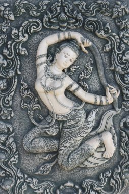 Mother of earth in Thai style