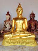 Surat thani, Thajsko - 15 října 2013: wat phraborom že jí: ratchaworawihan nebo Chaiyi buddha je relikvie