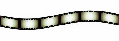 35 mm film strip background, texture