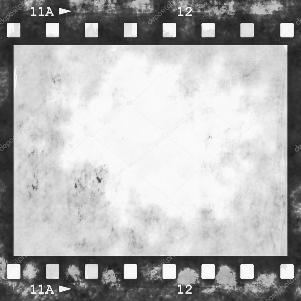 Old grunge film strip frame background — Stock Photo © dusan964 ...