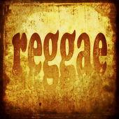 Reggae Wort Musik Hintergrund