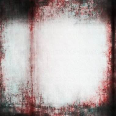 Abstract grunge horror wall red background