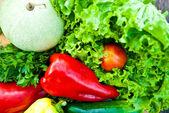 zeleninové pozadí