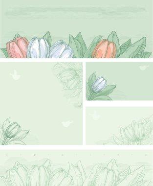 Spring floral backgrounds