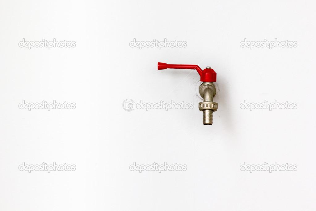 Wasserhahn An Wand Stockfoto C Liewluck 30473965