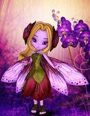 Lila-fehér és lila