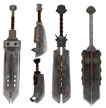 Collection of exotic swords