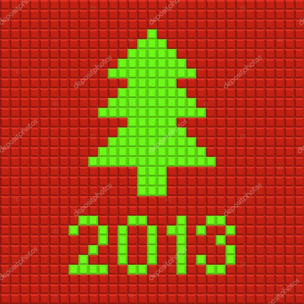 Pixel Art Noel
