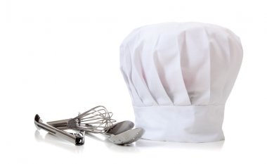 Chef Hat and utensils