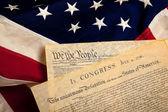 Fotografie americké historické dokumenty na vlajku