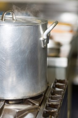 A restaurant pots