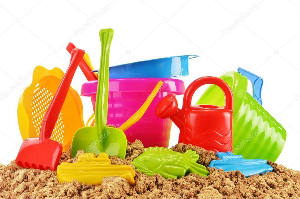Juguetes de pl stico de los ni os para jugar en el arenero for Juguetes de plastico