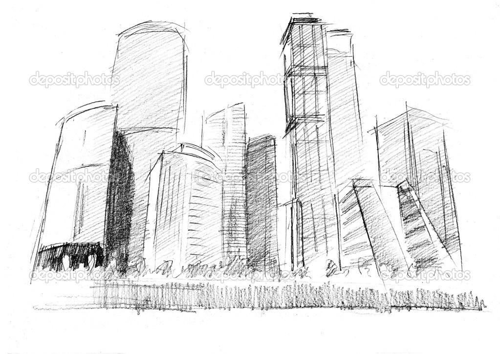 how to draw deascent citys