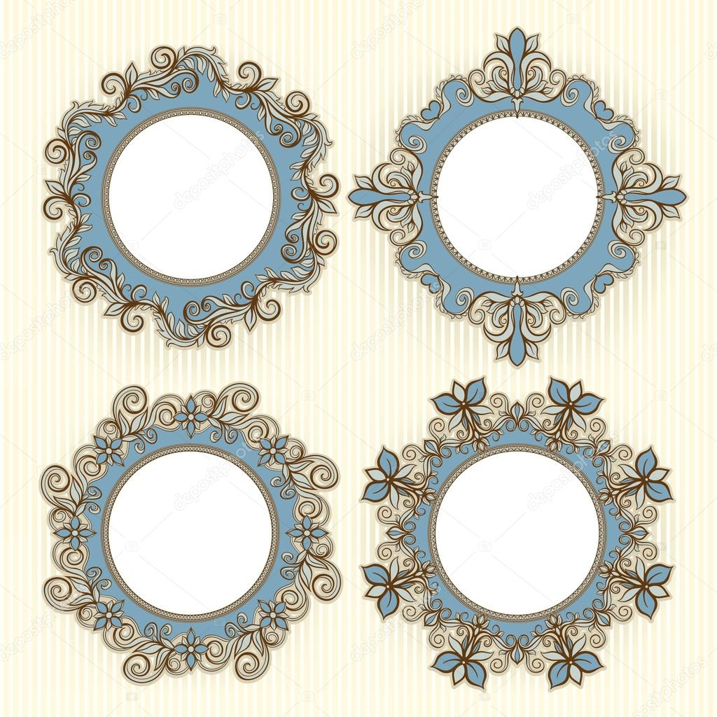 four beautiful frames