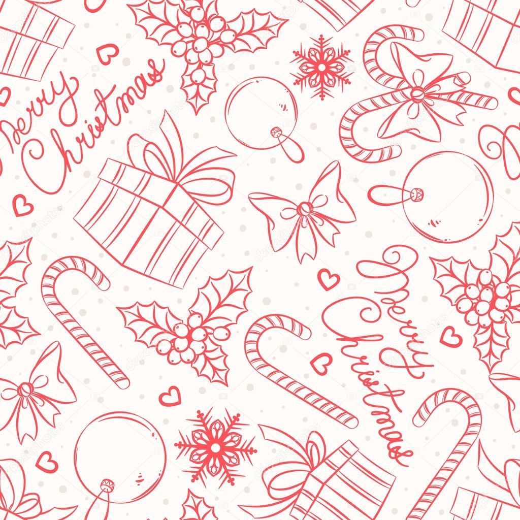 Süßigkeiten, Geschenke und Grüße — Stockvektor © Grey_ant #35156399