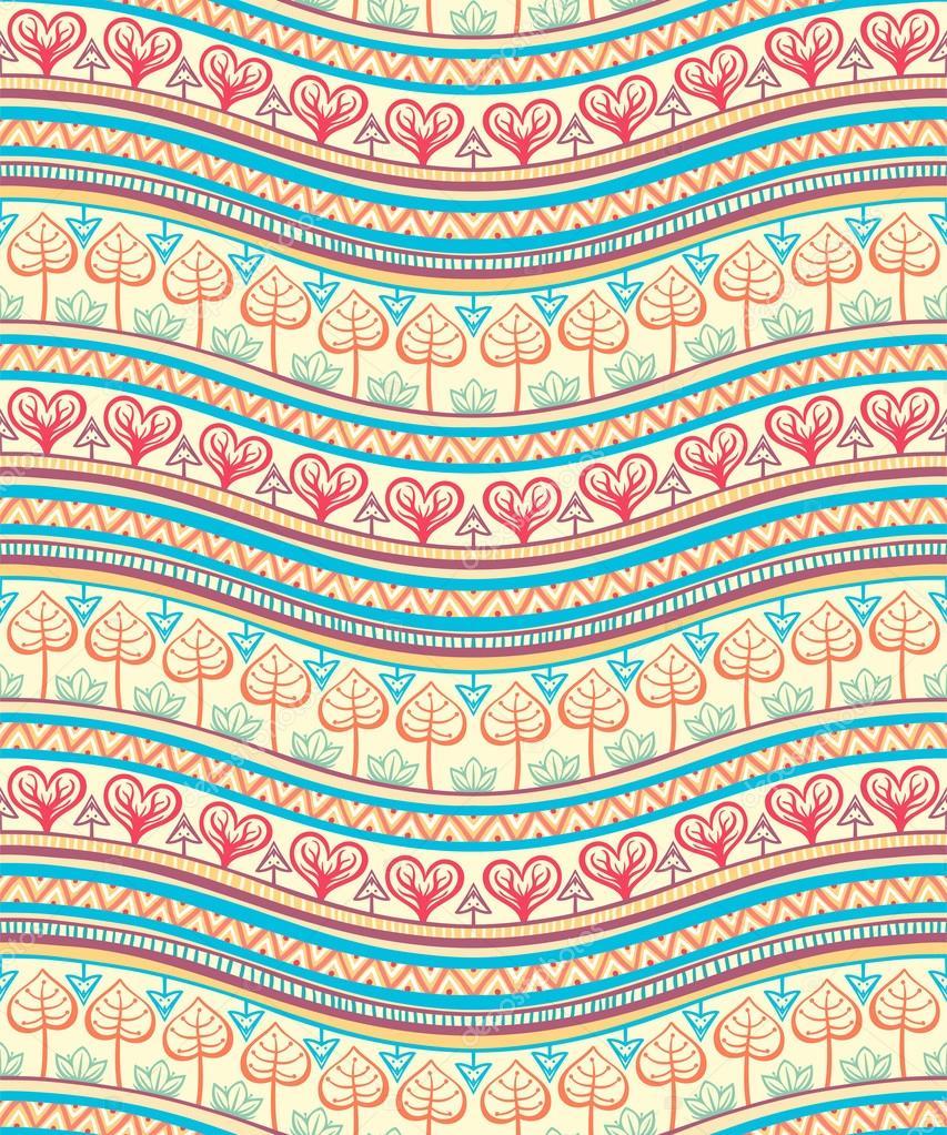 Tribal Color Ornament Stock Vector Greyant 36423419
