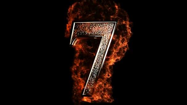 7 v ohni