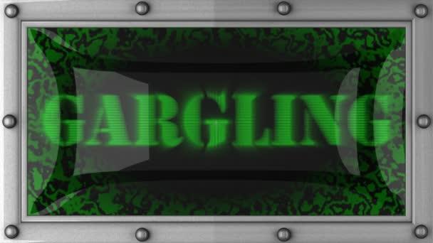Gargling on led