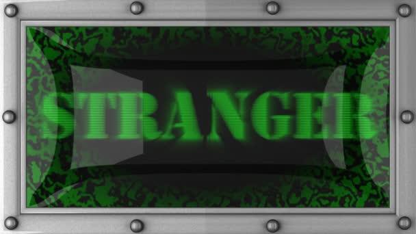Stranger on led