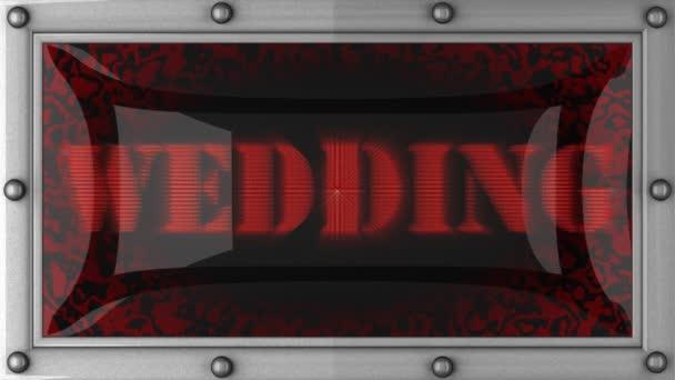 svatba na čele