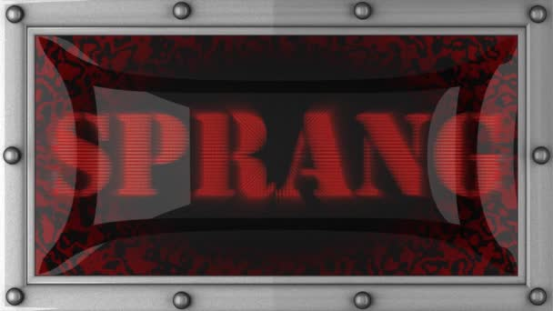 Sprang on led