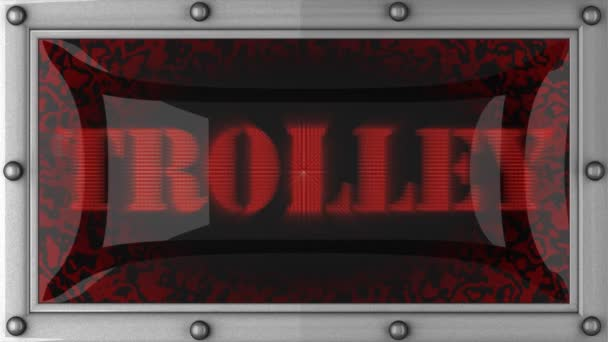 Trolley on led